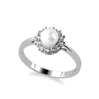 Kolekce LUXURY PEARL - prsten CABRHA diamonds TELLA