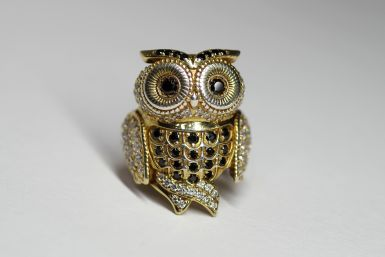 Kolekce NATUR MAGIC - prsten CABRHA diamonds OWL