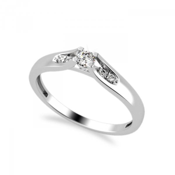 Kolekce TRUE LOVE - prsten CABRHA diamonds EDITH